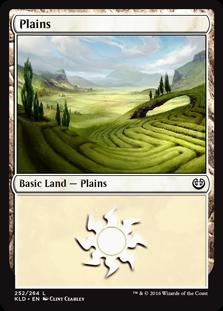 Plains (252) card from Kaladesh