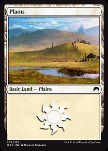 Plains (253) card from Magic Origins
