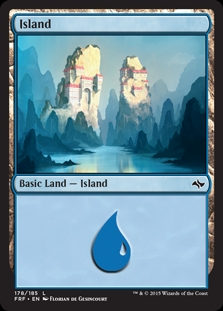 Island (178) card from Fate Reforged