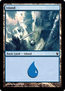 Island (40) card from Duel Decks: Izzet vs. Golgari