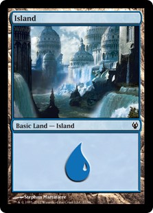 Island (37) card from Duel Decks: Izzet vs. Golgari