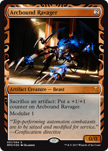 Arcbound Ravager card from Masterpiece Series: Kaladesh Inventions