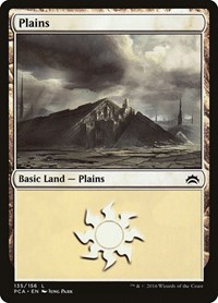 Plains (135) card from Planechase Anthology
