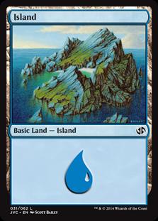 Island (31) (Jace vs. Chandra) card from Duel Decks: Anthology