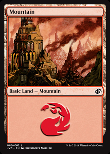 Mountain (60) (Jace vs Chandra) card from Duel Decks: Anthology