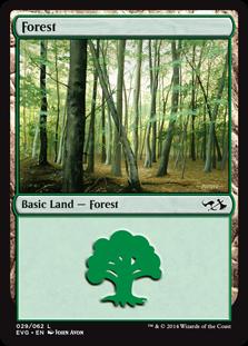 Forest (29) (Elves vs Goblins) card from Duel Decks: Anthology