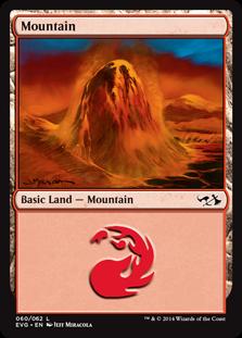 Mountain (60) (Goblins vs Elves) card from Duel Decks: Anthology