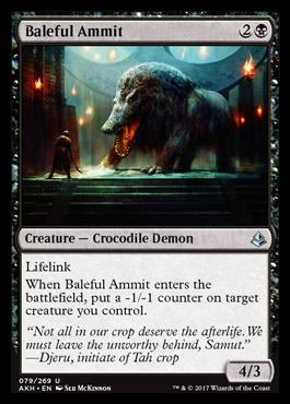 Baleful Ammit