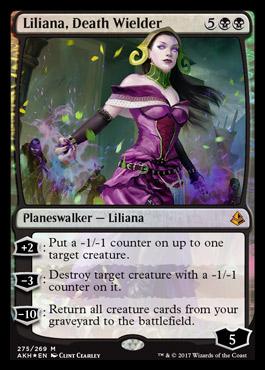 Liliana, Death Wielder