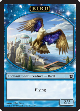Bird Token (Blue)