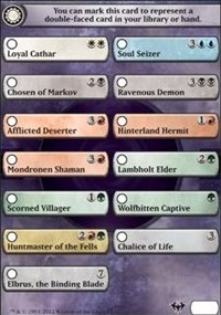 Checklist Card - Dark Ascension