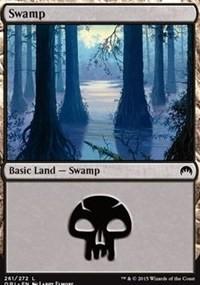 Swamp (261) card from Magic Origins
