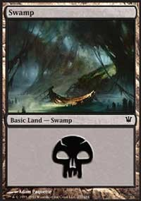 Swamp (257) card from Innistrad