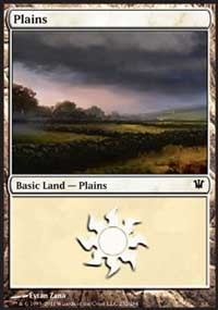 Plains (252) card from Innistrad