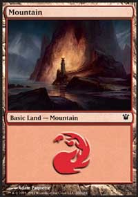 Mountain (260) card from Innistrad