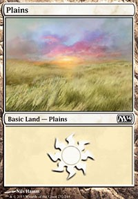Plains (232) card from Magic 2014 Core Set