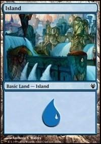 Island (39) card from Duel Decks: Izzet vs. Golgari