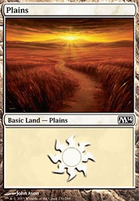 Plains (230) card from Magic 2014 Core Set