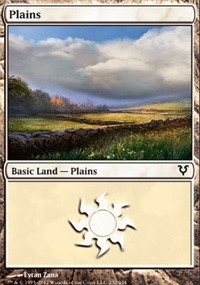 Plains (232) card from Avacyn Restored