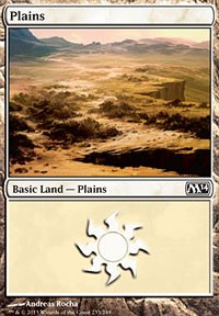 Plains (233) card from Magic 2014 Core Set