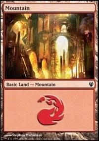 Mountain (41) card from Duel Decks: Izzet vs. Golgari