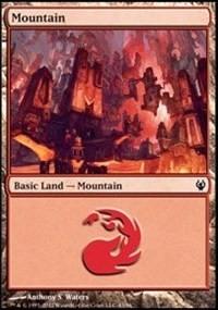 Mountain (43) card from Duel Decks: Izzet vs. Golgari