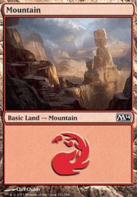 Mountain (242) card from Magic 2014 Core Set