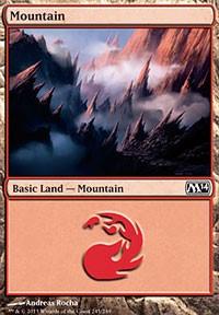 Mountain (245) card from Magic 2014 Core Set