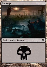 Swamp (238) card from Avacyn Restored