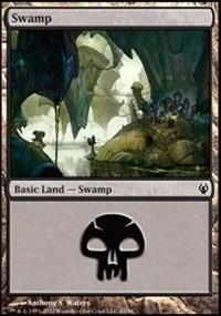 Swamp (85) card from Duel Decks: Izzet vs. Golgari
