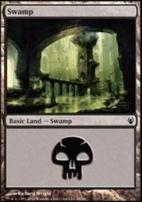 Swamp (86) card from Duel Decks: Izzet vs. Golgari
