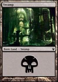 Swamp (83) card from Duel Decks: Izzet vs. Golgari