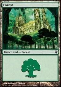 Forest (89) card from Duel Decks: Izzet vs. Golgari