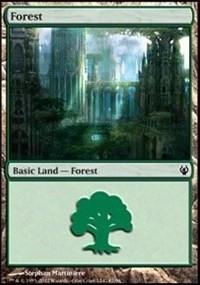 Forest (87) card from Duel Decks: Izzet vs. Golgari
