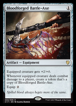 Bloodforged Battle-Axe