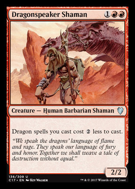 Dragonspeaker Shaman card from Commander 2017