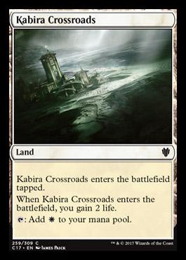 Kabira Crossroads card from Commander 2017
