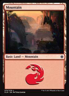 Mountain (273) card from Ixalan