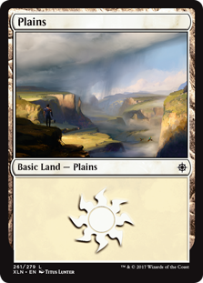 Plains (261) card from Ixalan