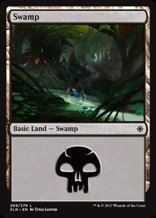 Swamp (269) card from Ixalan