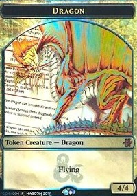 Gold Dragon Token