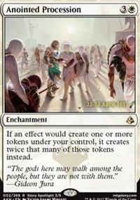 Anointed Procession card from Prerelease Cards
