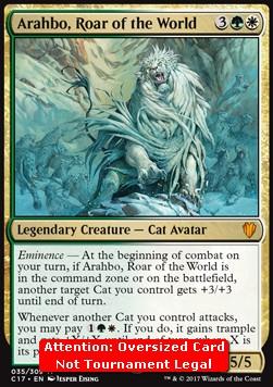 Arahbo, Roar of the World (Commander 2017)