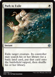 Path to Exile card from Explorers of Ixalan