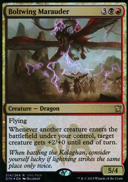 Boltwing Marauder card from Unique and Miscellaneous Promos