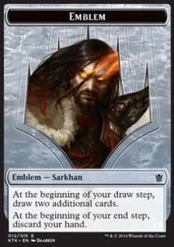 Emblem - Sarkhan, the Dragonspeaker