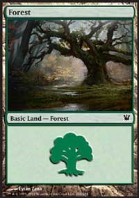 Forest (264) card from Innistrad