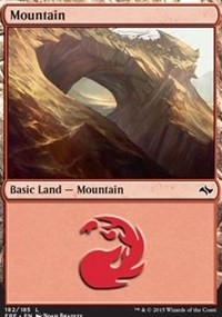 Mountain (182) card from Fate Reforged