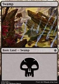 Swamp (270) card from Ixalan