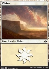 Plains (176) card from Fate Reforged